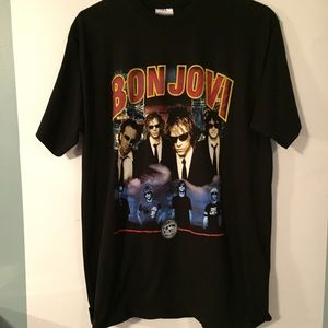 Other - Bon Jovi 2003 Bounce Concert Tour T Shirt Black Lg